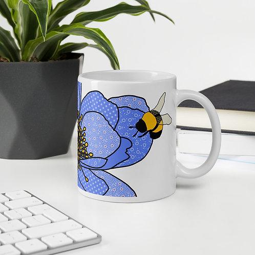 Bee Strong Peony | Mug
