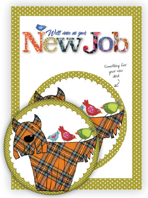 New Job | Coaster & Card