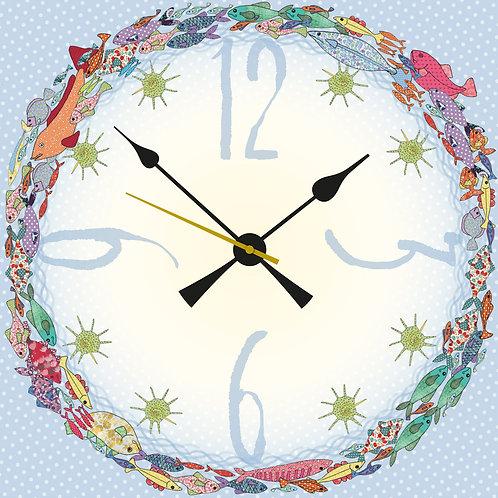 Fish | Clock Large