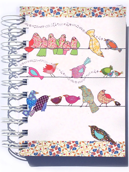 Birds on a Wire  | A6 Notebook