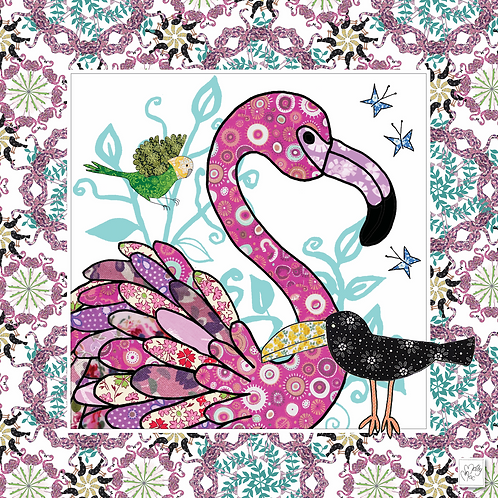 Tickled Pink Flamingo | Napkins (2)