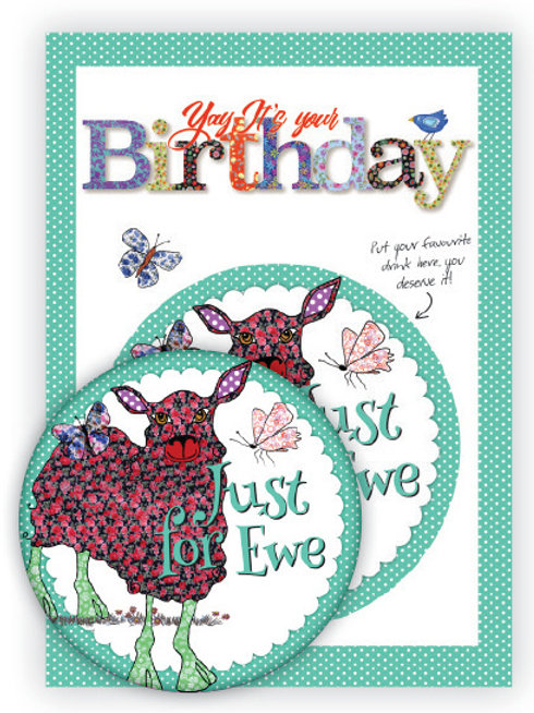 Yay It's your Birthday | Coaster & Card