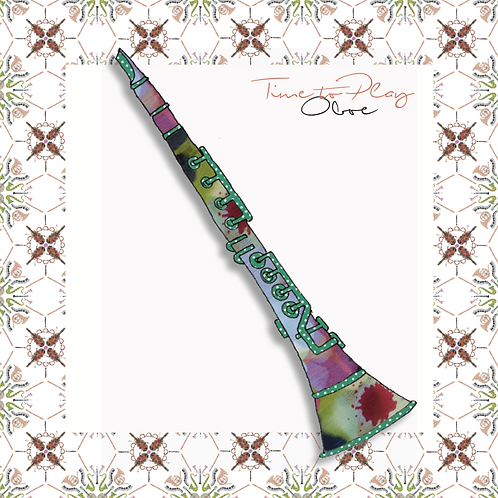 Oboe | Greeting Card