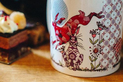 Flick of Hares | Mug