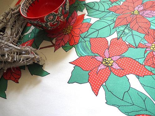 Poinsettia | Runner • Napkins • Tea Towel