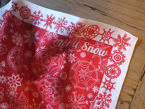 Red Let it Snow | Napkins (2)