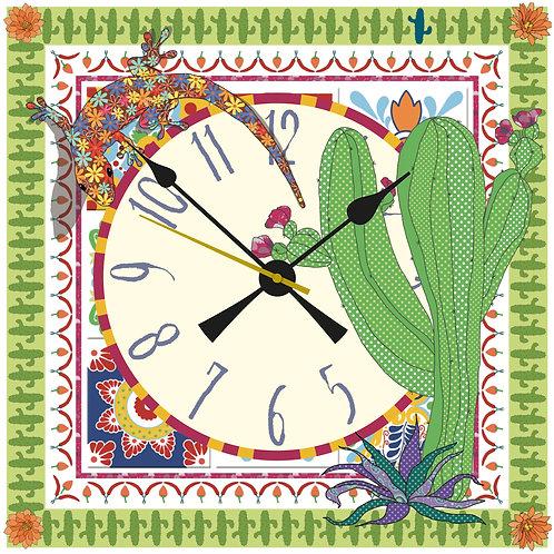 Cactus | Clock