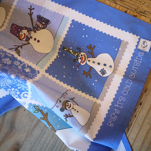 Snowman Baby It's Cold Outside | Napkins (2)