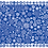 Thumbnail: Blue Let it Snow | Table Runner