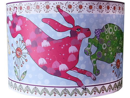 Flick of Hares | Lampshade