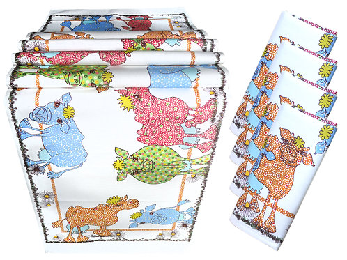 Cow Girls | Table Set