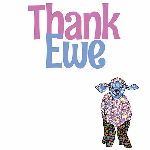 Thank Ewe | Card
