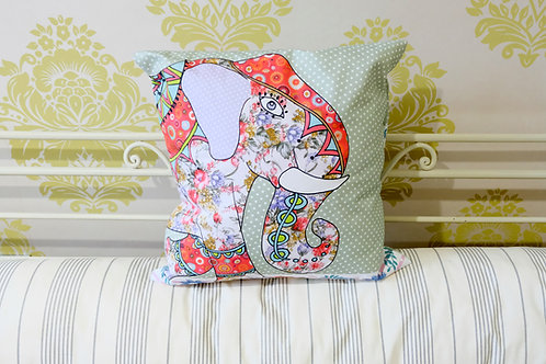 Elsie the Elephant    Cushion