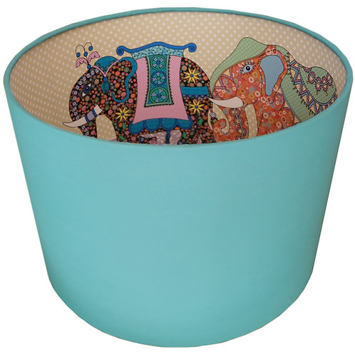 Elephant | Lined Lampshade