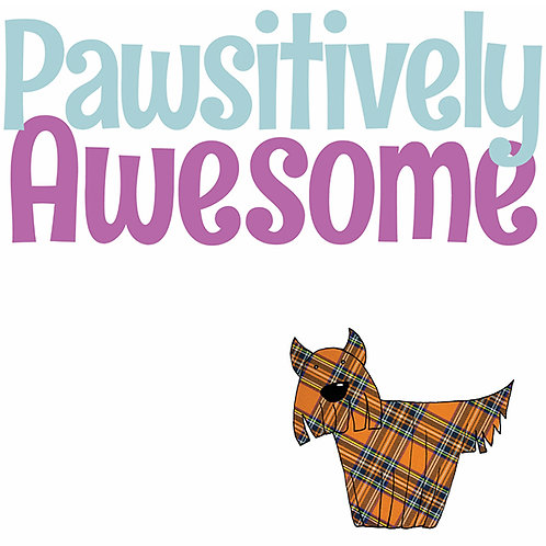 Pawsitively Awesome | Card