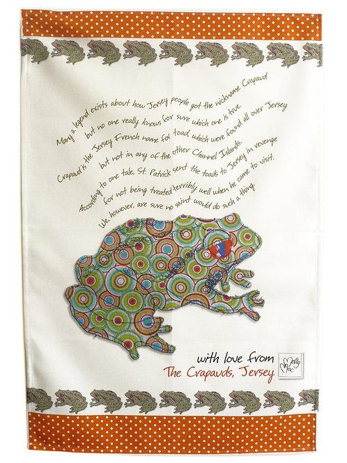 Jersey Crapaud | Tea towel