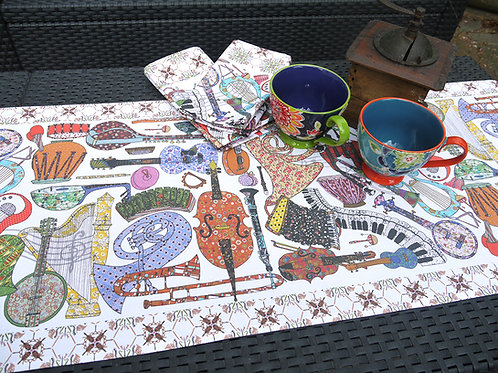 Seconds | Play On  | Table Runner