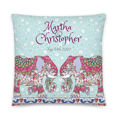 Happy Ever After (Personalised) | Throw Cushion