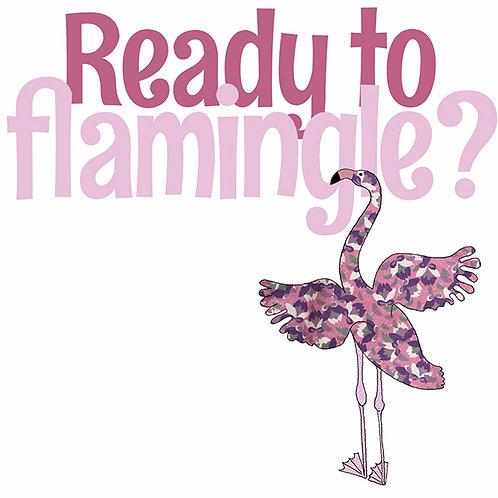 Ready to Flamingle | Card