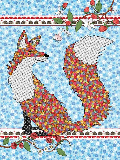 Hello Foxy | Wall Art
