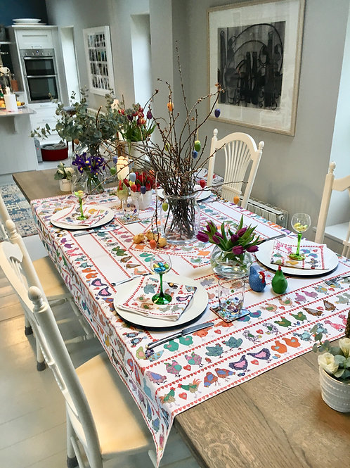 Why Did the Chicken?  | Tablecloth