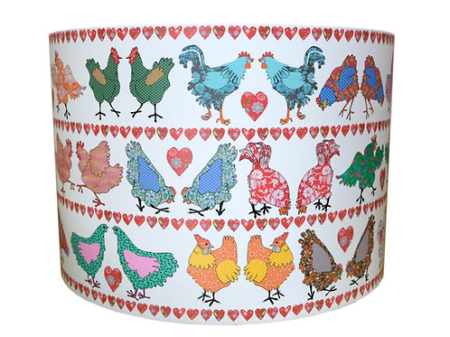 Folk Chicken | Lampshade