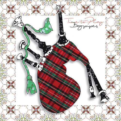 Bagpipes | Greeting Card