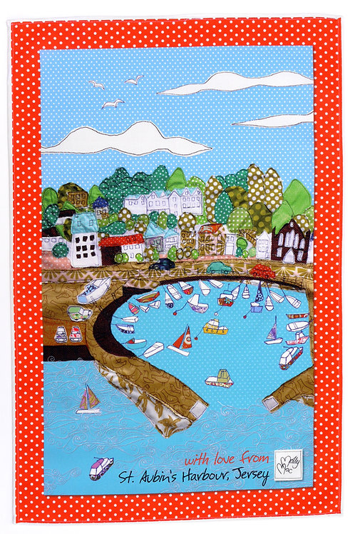 St Aubin Jersey | Tea towel