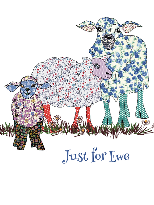 Just for Ewe | Card