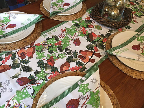 Seconds | Deck the Halls | Table Runner