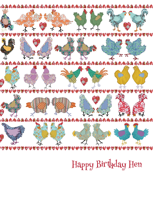 Folk Birthday Card | Card