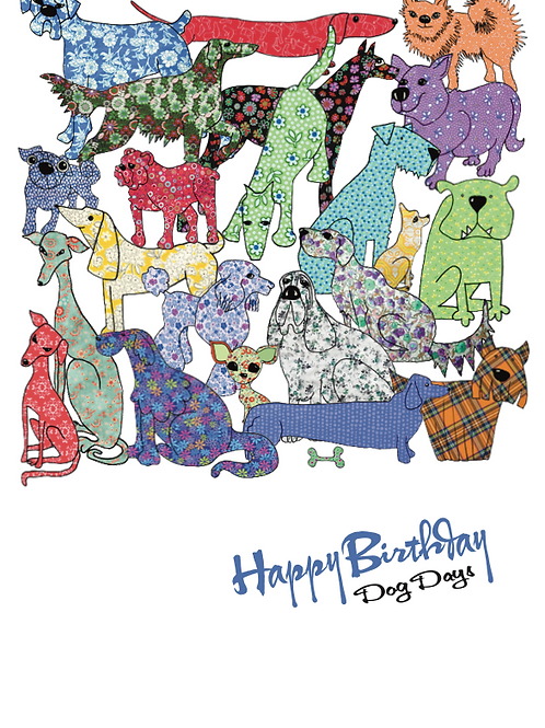 Happy Birthday Dog Days | Card
