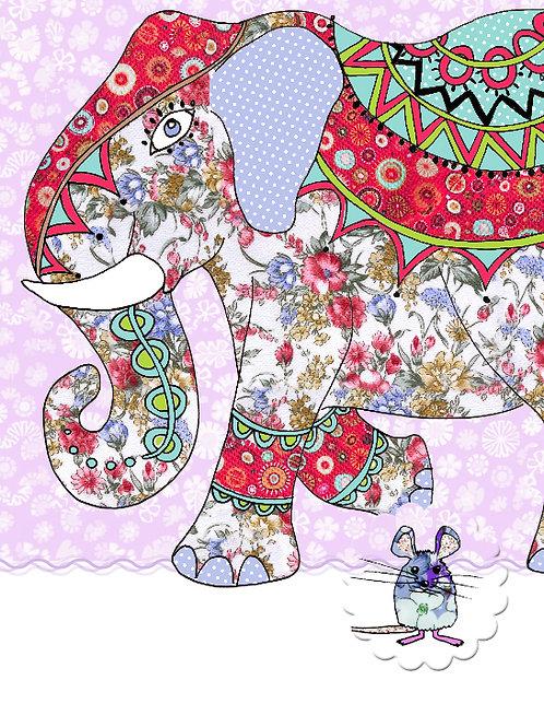 Elephant, Hidden Mouse | Card