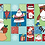 Thumbnail: Seconds |  Santa Claus Happy Christmas to All  | Table Runner