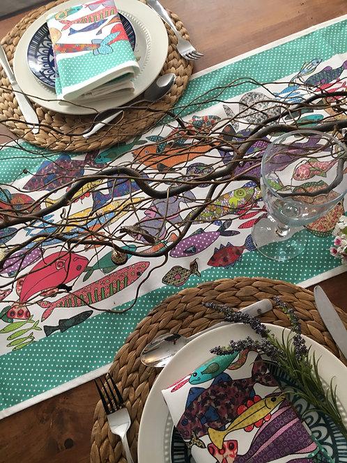 Something Fishy Multi | Table Runner