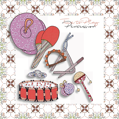 Percussion | Greeting Card