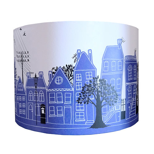 Blue On the Street | Lampshade