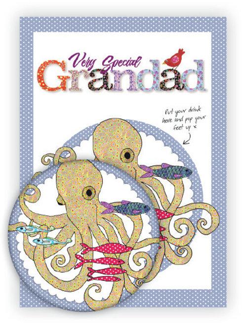 Very Special Grandad | Coaster & Card