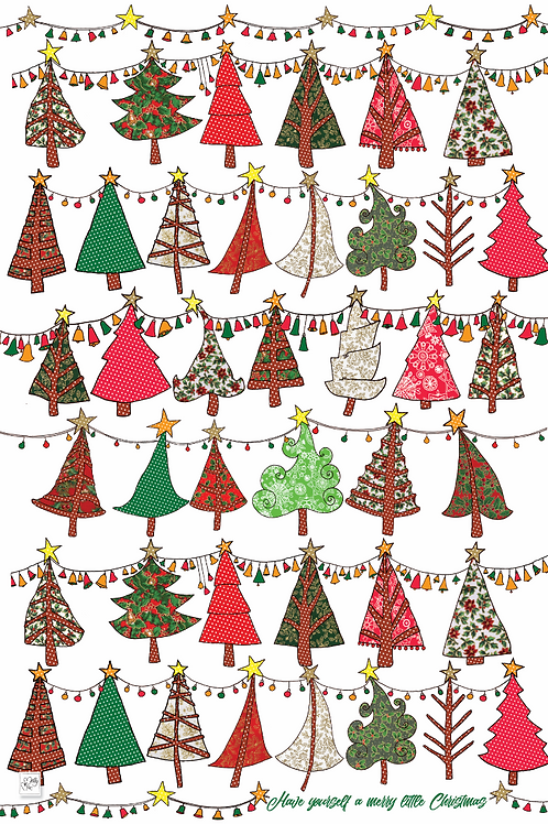 Have Yourself a Merry Little Christmas  | Tea towel