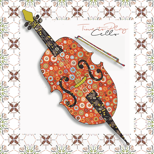 Cello | Greeting Card