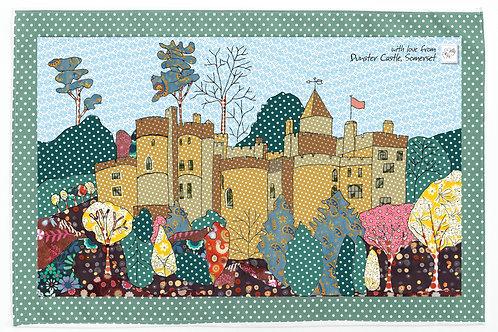 Dunster Castle, Somerset | Tea towel