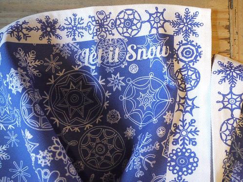 Seconds | Blue Let it Snow | Napkins (2)