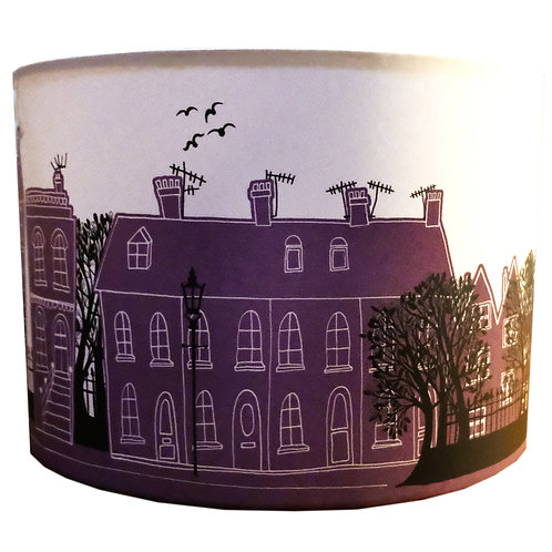 Purple On the Street | Lampshade