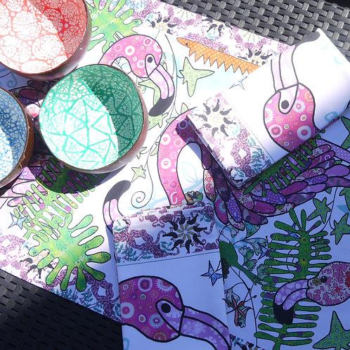 Tickled Pink Flamingo | Napkins (2)