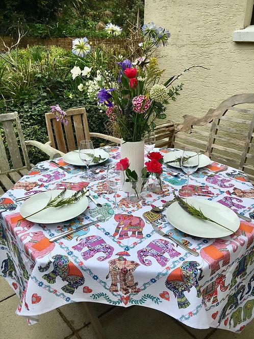 Elephant Parade  | Tablecloth
