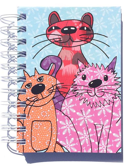 Feline Groovy  | A6 Notebook