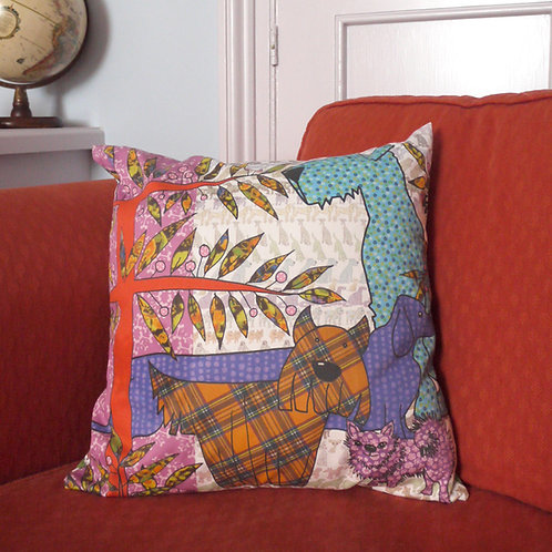 Seconds | Dog and Bone  | Cushion Cover (no pad)