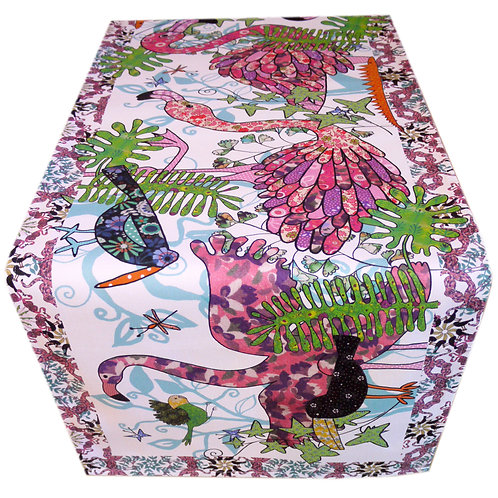 Tickled Pink Flamingo | Table Runner