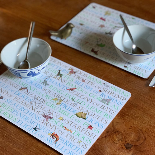 Animal Collectives | Placemats