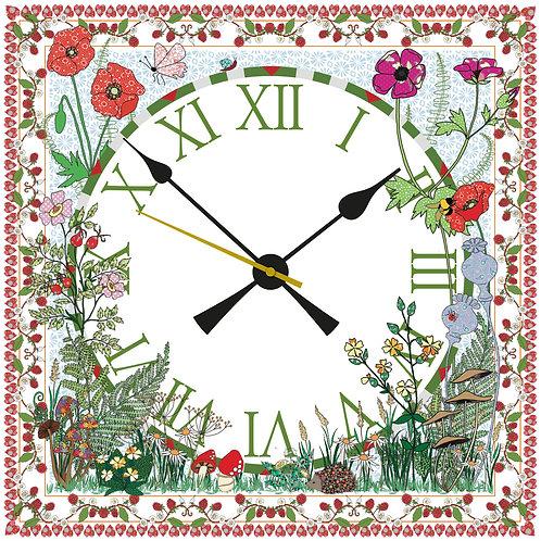 Wildflower | Clock Large